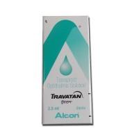 Box of generic Travoprost 0.004 %  Eye Drop of 2.5ml