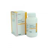 A box and a bottle of generic Lopinavir (200mg) + Ritonavir (50 mg) Tab