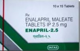 Box of Generic Vasotec 2.5 mg Tab - Enalapril