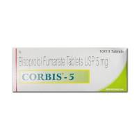 Box of Generic Zebeta 5 mg Tab - Bisoprolol