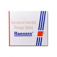Box pack of Generic Ranexa 500 mg ER Tab - Ranolazine
