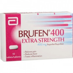 Box of Generic Advil 400 mg Tab - Ibuprofen