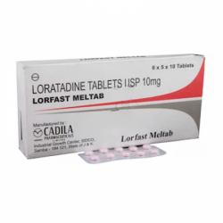 A box and a blister of generic Loratadine (10mg)Tab