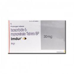Box of Imdur 30 mg Tab PR - Isosorbide Mononitrate