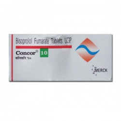 Box of Generic Zebeta 10 mg Tab - Bisoprolol