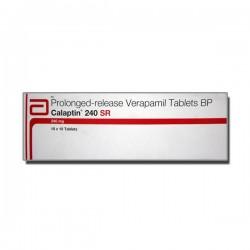 Box pack of Generic Calan SR 240 mg Tab - Verapamil