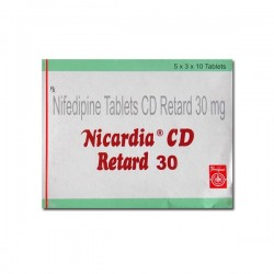 Box of Generic Procardia 30 mg Tab - Nifedipine