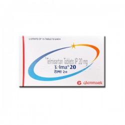 Box of Generic Micardis 20 mg Tab - Telmisartan
