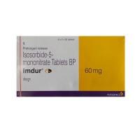Box  of Imdur 60 mg Tab PR - Isosorbide Mononitrate