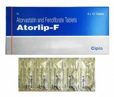 Generic Atorvastatin 10 mg + Fenofibrate 145 mg Tab