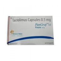 Box of Generic Prograf 0.5 mg Caps - Tacrolimus
