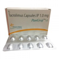 Box and blister strip of Generic Prograf 1 mg  Caps -  Tacrolimus