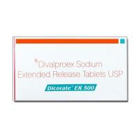 Box of Generic Depakote ER 500 mg Tab - Divalproex