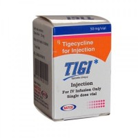 Box pack of generic Tigecycline 50mg Injection