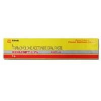 Box of Generic Triamcinolone Acetonide 0.1 % Paste 5gm