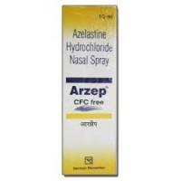 A box pack of generic Azelastine (0.1%) Nasal Spray