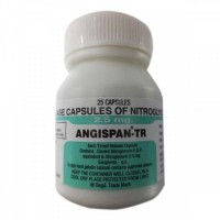 Bottle of generic Nitroglycerin 2.5mg Tablet