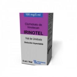 Box pack of generic Irinotecan 100mg/5ml Injection