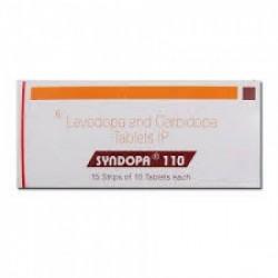 Box of Generic Sinemet 100 mg / 10 mg Tab - Levodopa / Carbidopa