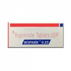 Box of Generic Requip 0.25 mg Tab - Ropinirole