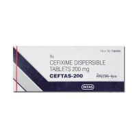 Box of generic Cefixime 200mg Tablet