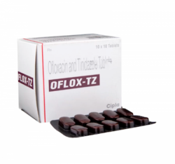 Generic Ofloxacin 200mg + Tinidazole 600mg Tab
