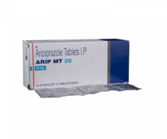 Box and blister strip of generic Aripiprazole 20mg tablet