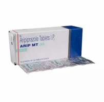 Box and blister strip of generic Aripiprazole 30mg tablet