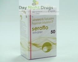 Box pack of Fluticasone Propionate 45mcg / Salmeterol 21mcg Inhaler