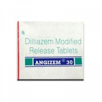 Box of generic Diltiazem (30mg) Tab