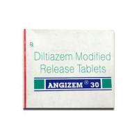 Box of generic Diltiazem (30mg) Tab