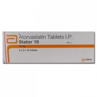 Box of generic Amlodipine Besylate, Atorvastatin Calcium 5/10mg tablet