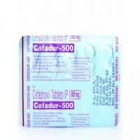 Strip of generic Cefadroxil 500mg Tablet