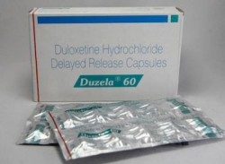 Box and blister strip of generic Duloxetine Hcl 60mg capsule