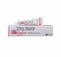 Tube and box of generic estradiol vaginal cream 1.0MG/GM 15GM