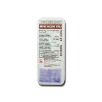 A pack of Amikacin 500 mg Injection