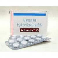 Box and blister strip of generic Memantine HCl 10mg tablet