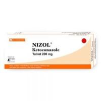 Box pack of generic Ketoconazole 200mg Tab