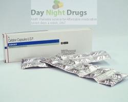 Box and a few strip of generic Cefdinir 300mg capsule