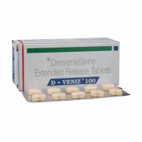 Box and blister strip of generic desvenlafaxine succinate 100mg tablet