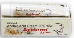 Tube and a box of generic Azelaic Acid 20 % Cream