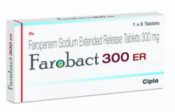 Box of generic Faropenem 300mg Tab
