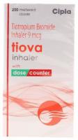 Box pack of generic Tiotropium 9mcg inhalation
