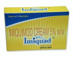 A box of Generic Aldara 5 % Cream - Imiquimod