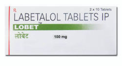 Box of Labetalol 100mg Tab