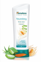 A bottle of Himalaya's Nourishing Body Lotion - Winter Cherry & Aloe Vera 200 ml