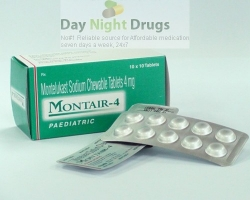 Singulair 4mg Tablets  (Generic Equivalent)