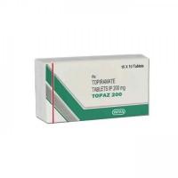 Box of generic Topiramate 200mg tablets
