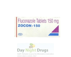 Box of generic fluconazole 150mg tablet