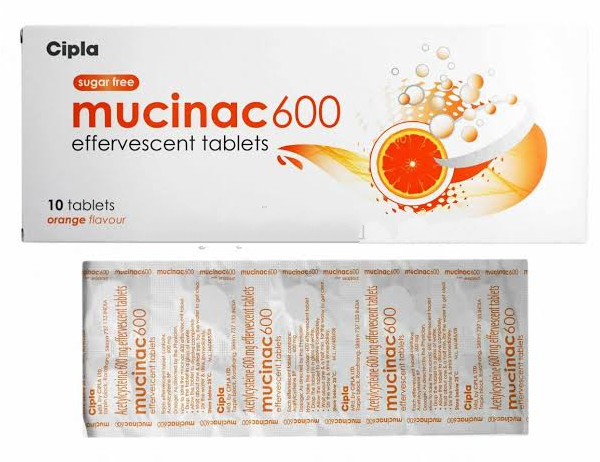 Generic Acetylcysteine 600 mg Tab
